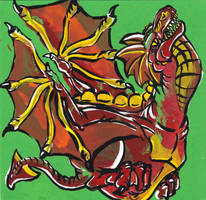 Dragon Handimal by Gingco