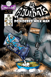 Aquabats vs. Powdered Milk Man Cover by Gingco