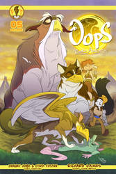 Oops Comic Adventure #5 cover