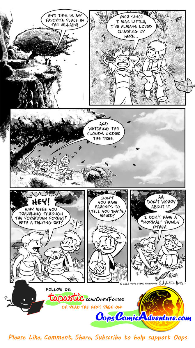 Oops Comic Adventure #5 page 4 by Gingco