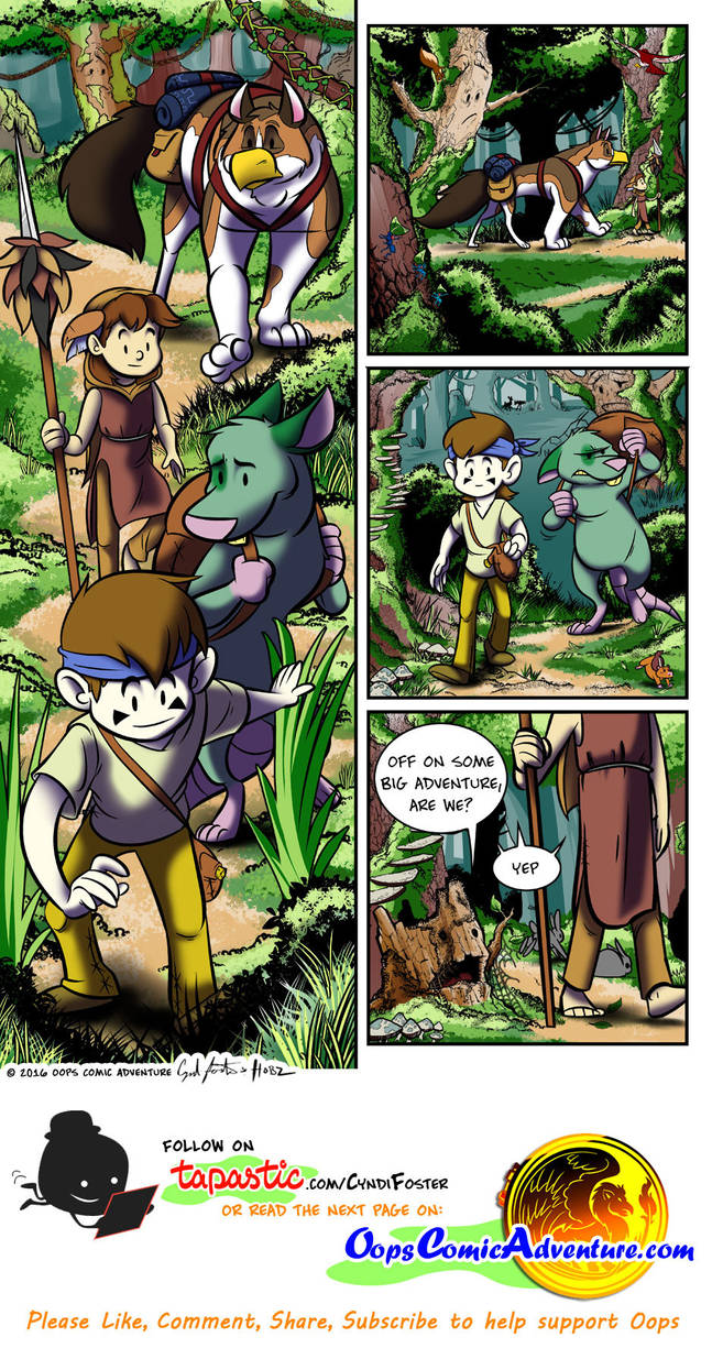 Oops Comic Adventure #6 page 1