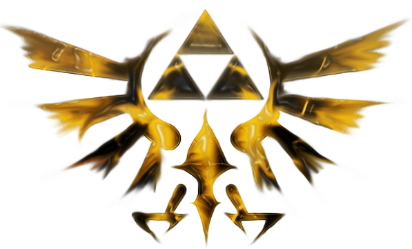 triforce by hakarune on deviantart