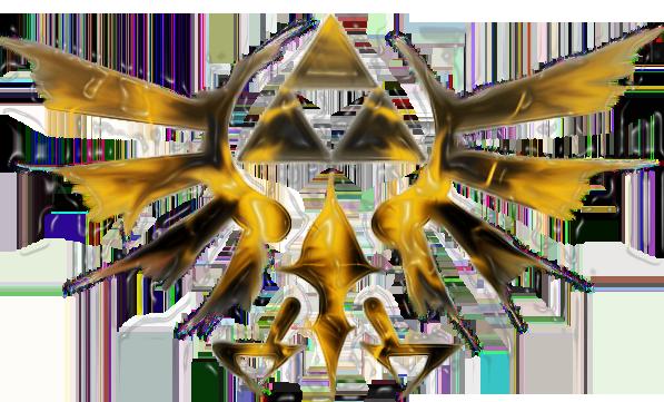 Zelda Triforce by Hakarune on DeviantArt