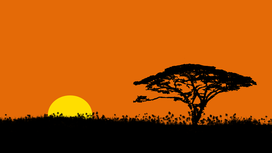 African Silhouette Images & Pictures - Becuo