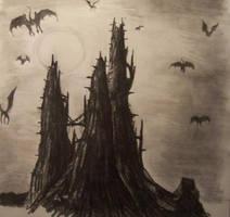 Dracula's castle by Miss-Kizzy