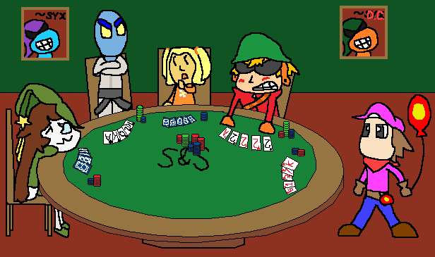 Poker Night at Suits n' Sandals Inc. by dorko4u