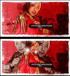 King Of Strong Style - Shinsuke Nakamura - Sig