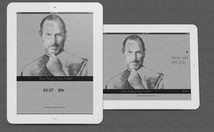 Steve Jobs LockScreen by jessecheema