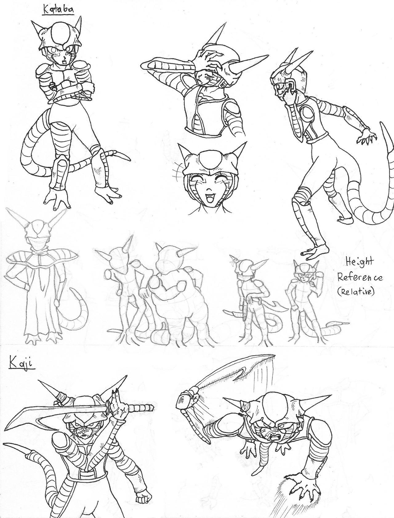 Arcosians Sketches 2