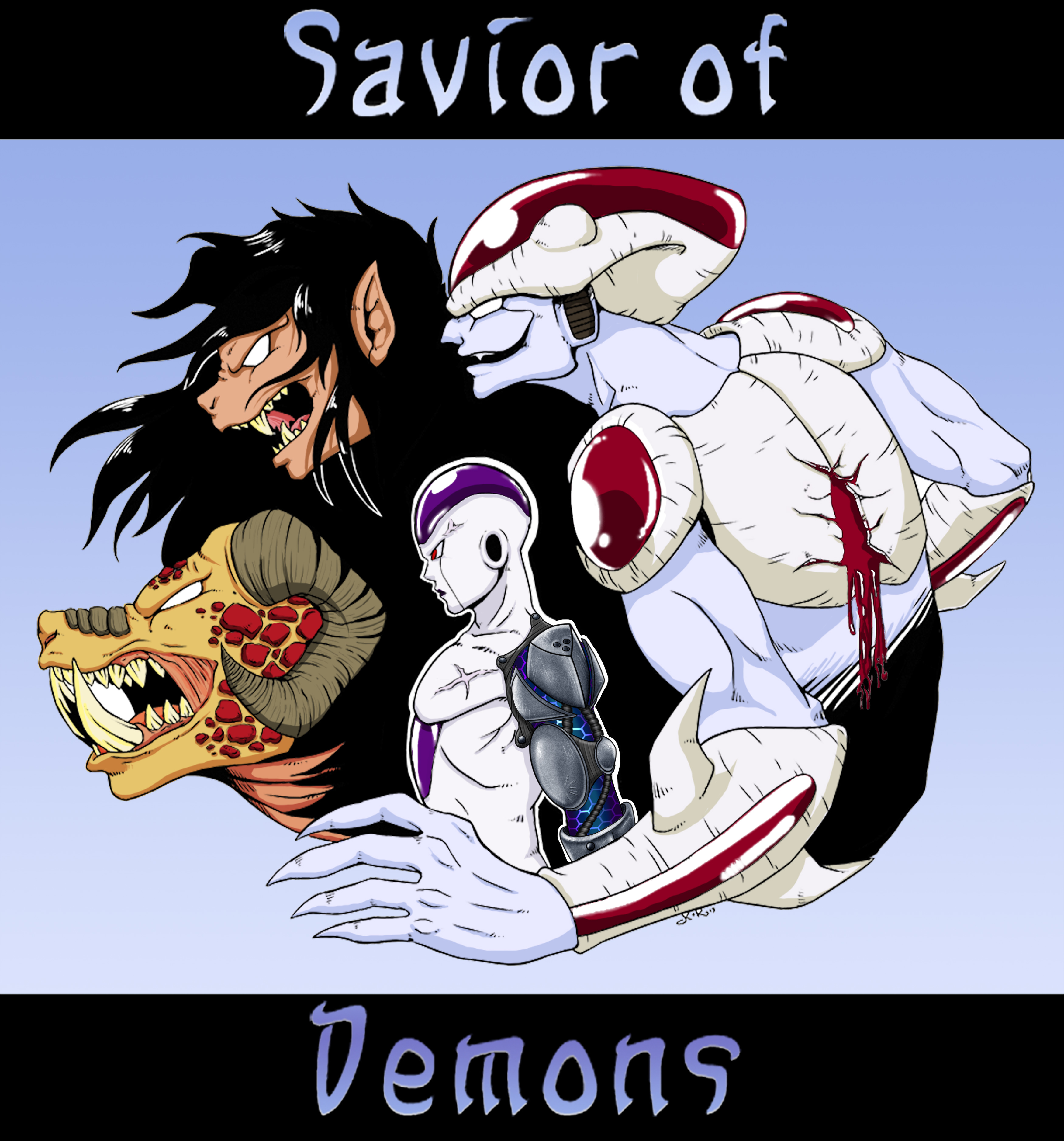 Savior of Demons Story Cover by RyunoOhi