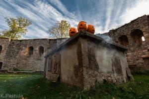 Grafenstein Castle by Wyrcek