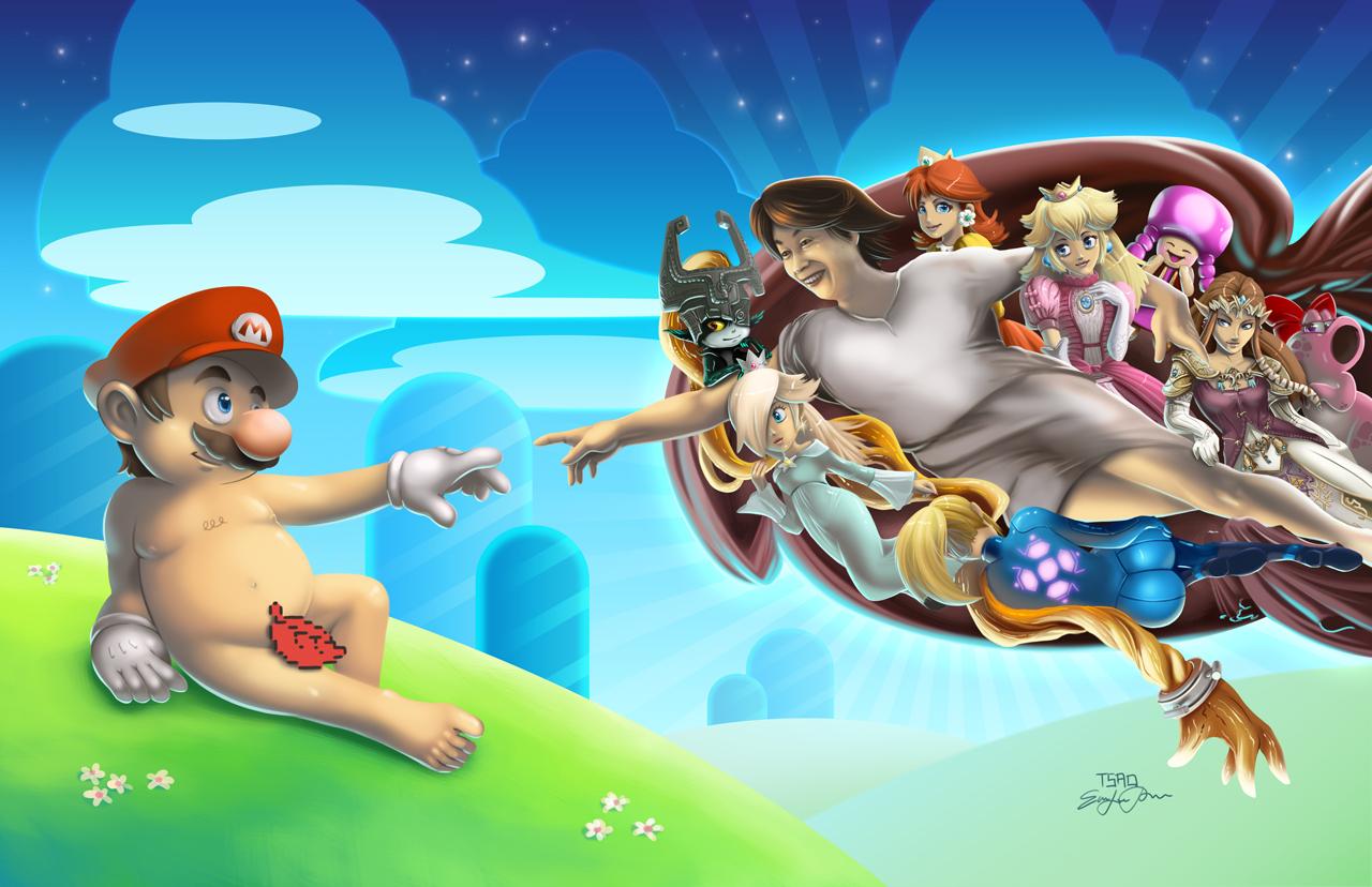 The Creation of Mario by TsaoShin
