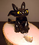 Toothless Sculpture