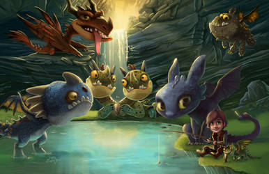 HTTYD: Dragon's Dinner Party