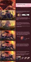 Manticore Steps by TsaoShin