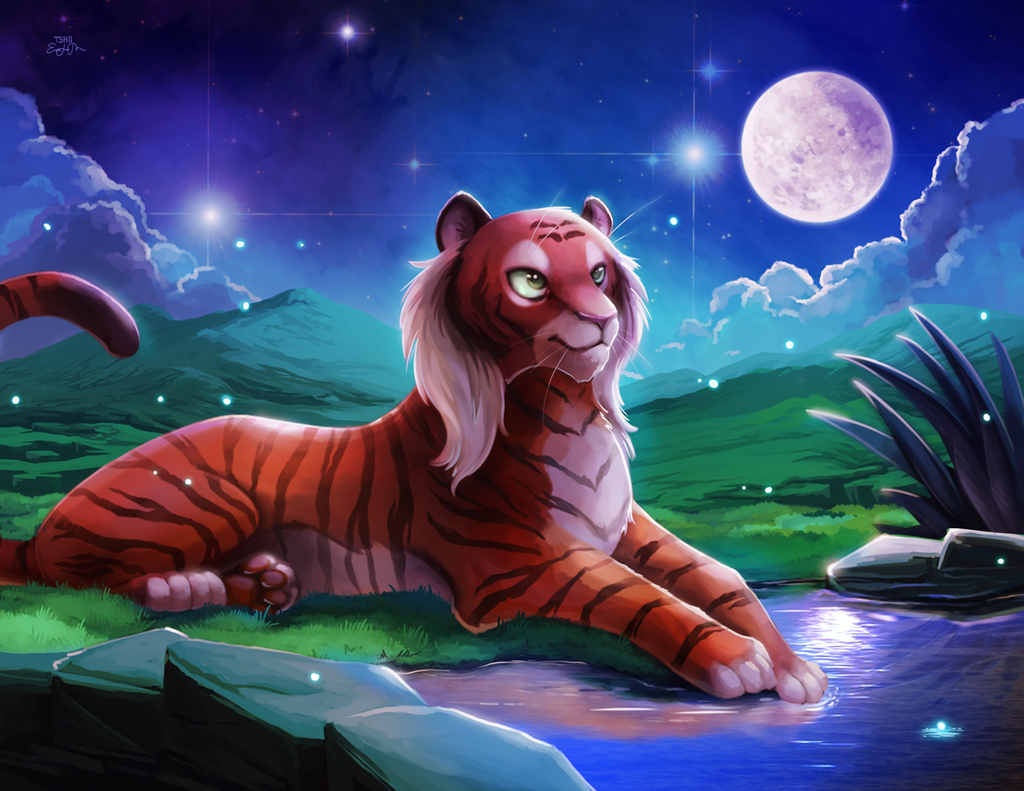 TigresaDaina by TsaoShin