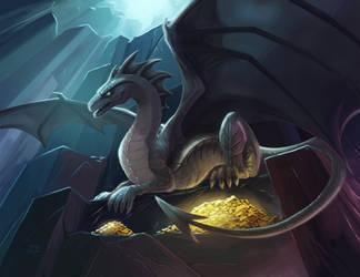 Drazen on the Throne by TsaoShin