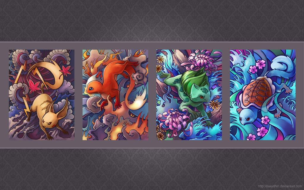 Pokemon Tattoo Wallpaper by TsaoShin