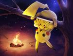 Pikachu 3DS Commission