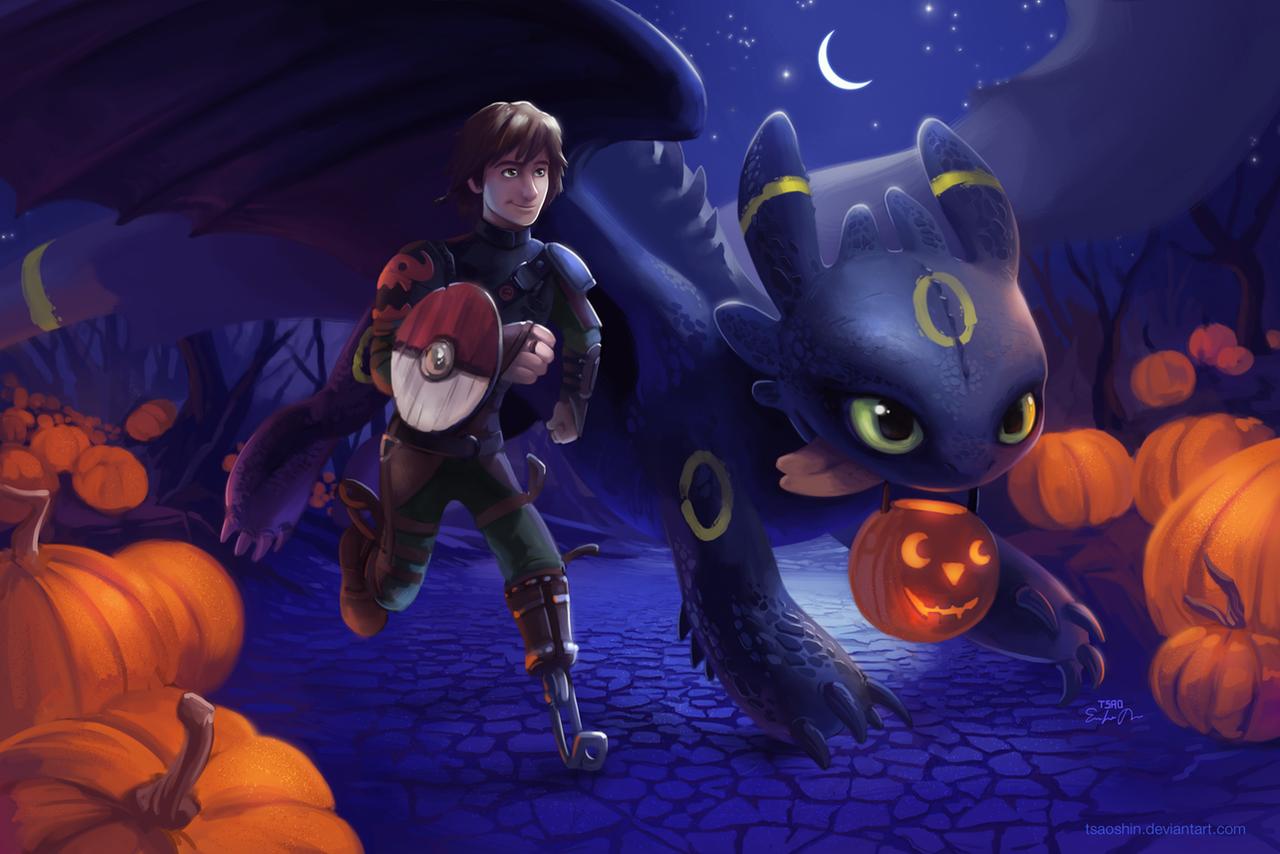 A Very HTTYD Halloween by TsaoShin on DeviantArt