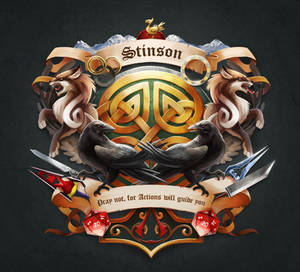 Stinson - Family Crest by TsaoShin