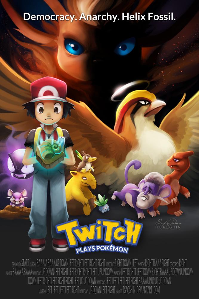 Twitch Plays Pokemon by TsaoShin