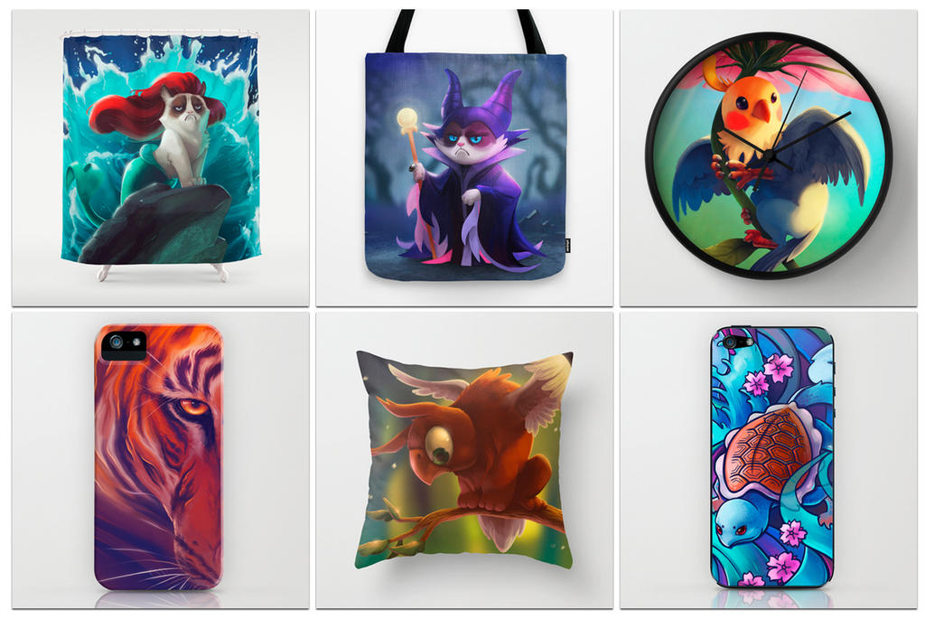 Tote bag giveaway winner by tsaoshin on deviantart for Society 6 promo code