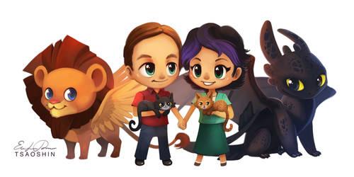 Ghezzi Family Commission by TsaoShin