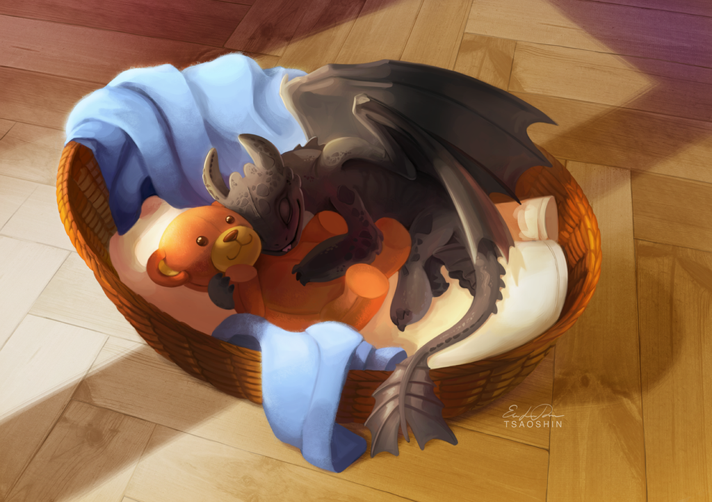 Lullaby for the Night Fury by TsaoShin