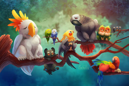 Griffins of a Feather