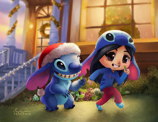 Holiday Mischief by TsaoShin