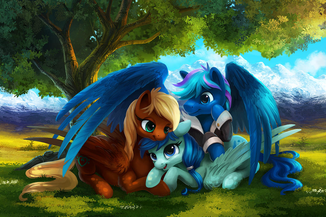 Resting Under the Tree by TsaoShin