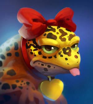Grumpy Gecko by TsaoShin