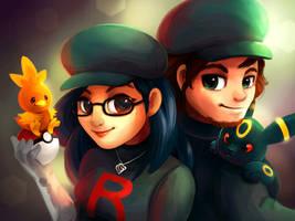 Team Rocket Couple by TsaoShin