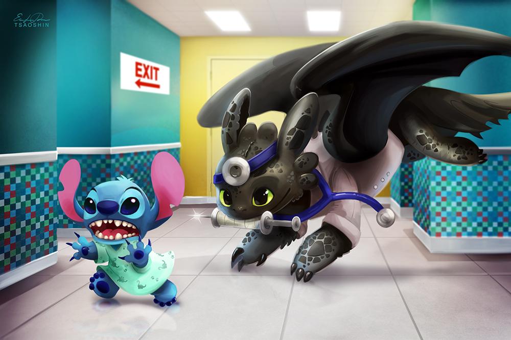 Doctor Toothless by TsaoShin