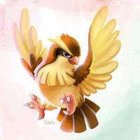 016 - Pidgey by TsaoShin