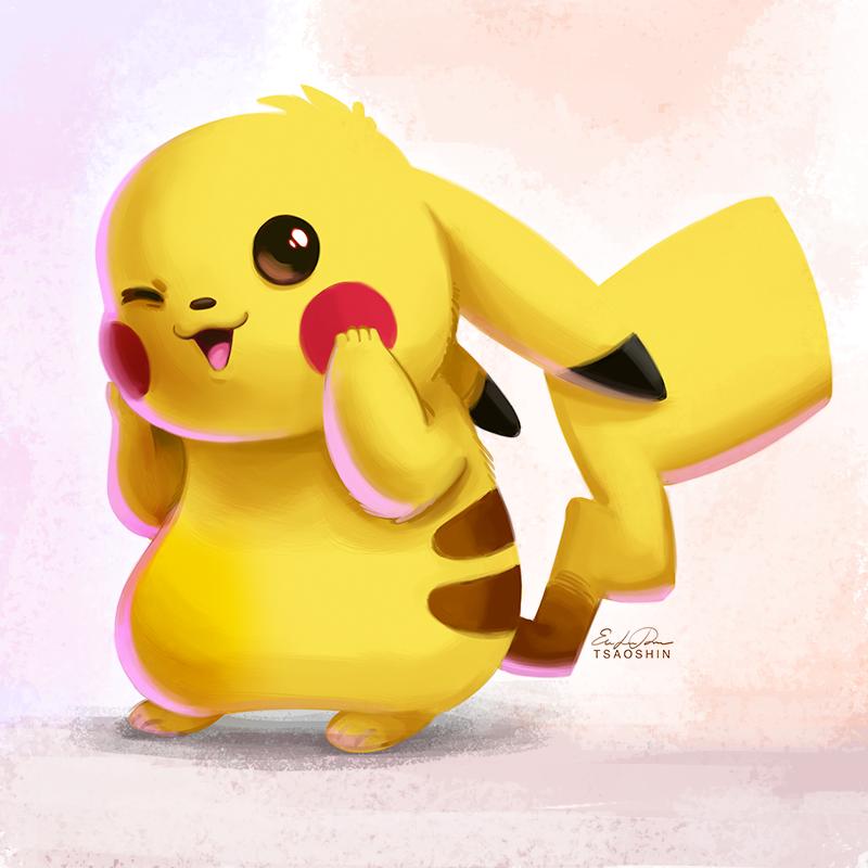 025 Pikachu By Tsaoshin On Deviantart