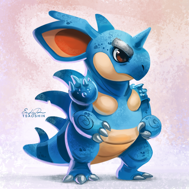 031 - Nidoqueen by TsaoShin on DeviantArt