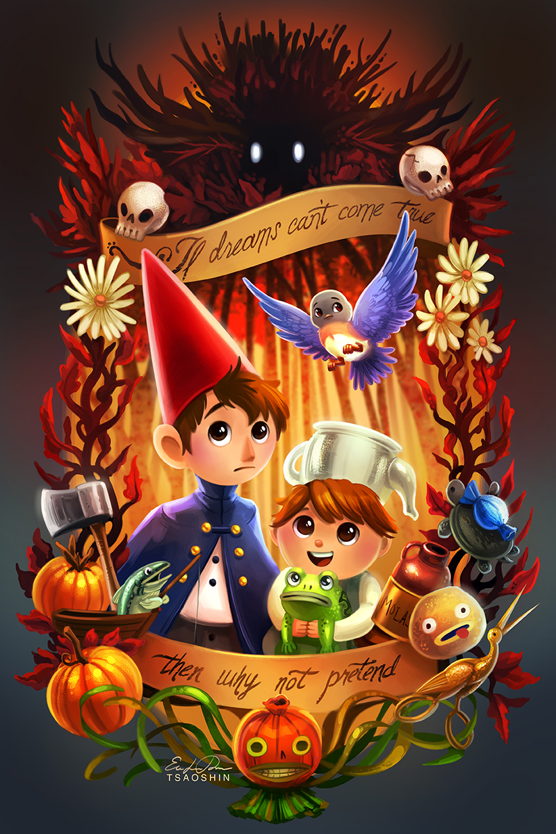 Over The Garden Wall By Tsaoshin On Deviantart
