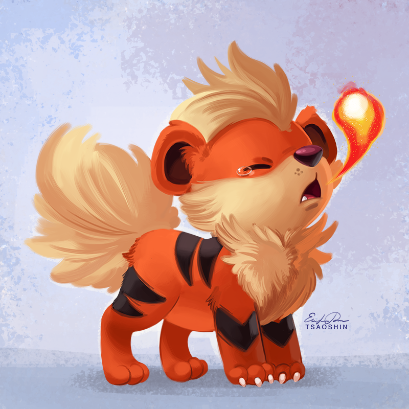 058 growlithe by tsaoshin on deviantart - Arcanine pics ...