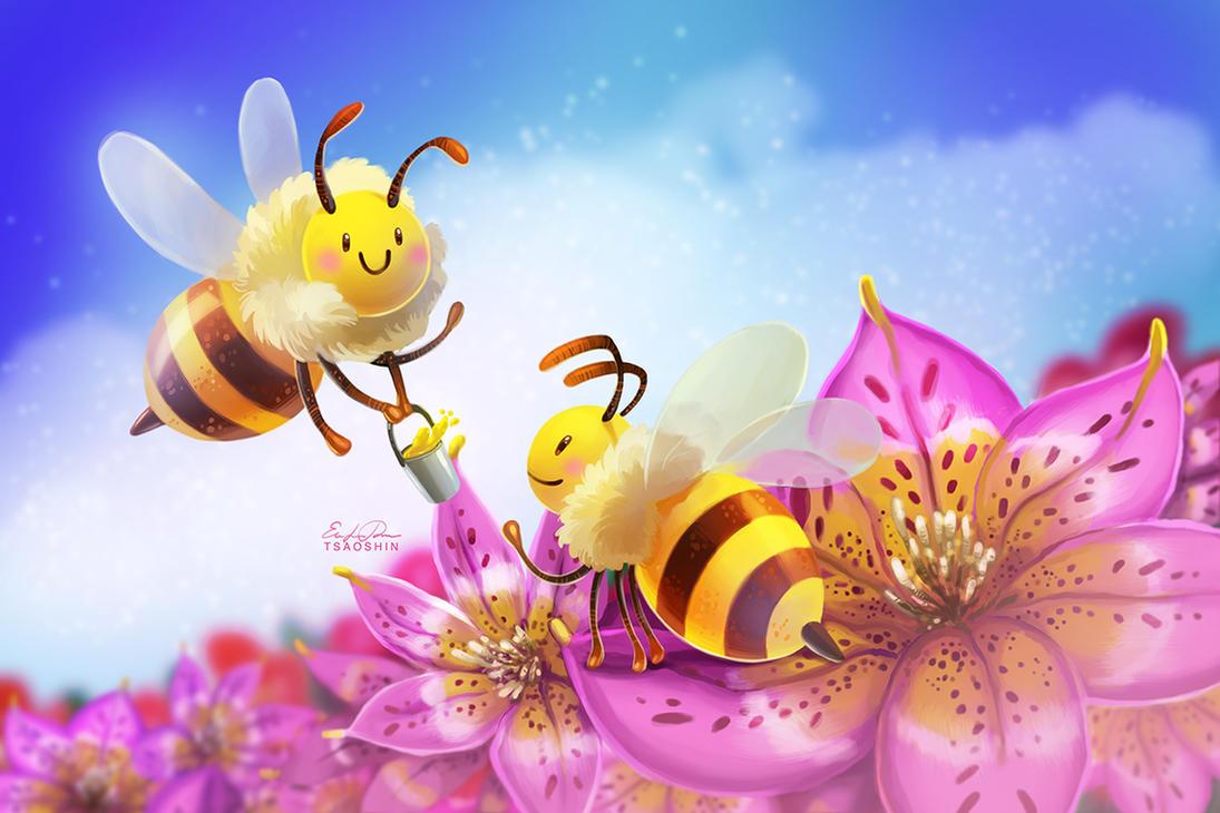 Honeybees by TsaoShin