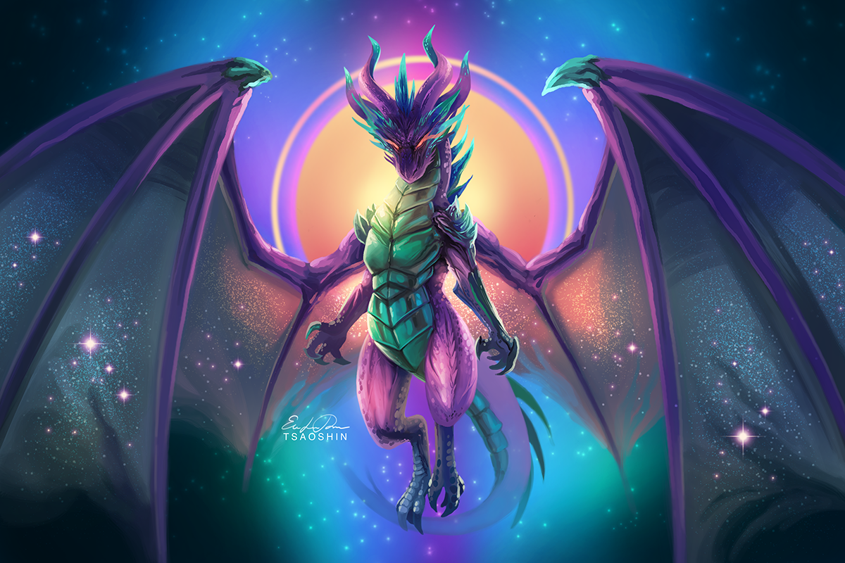 Night Dragon by TsaoShin on DeviantArt