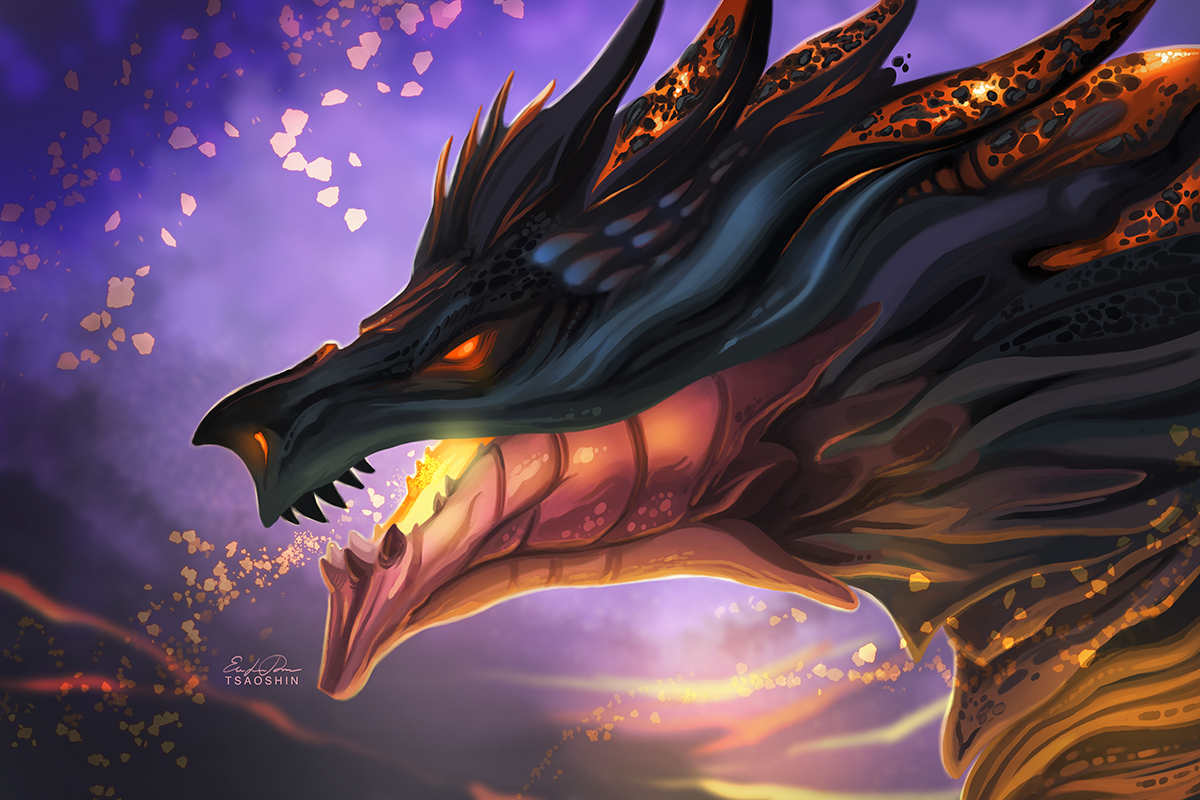 Magma Dragon by TsaoShin on DeviantArt