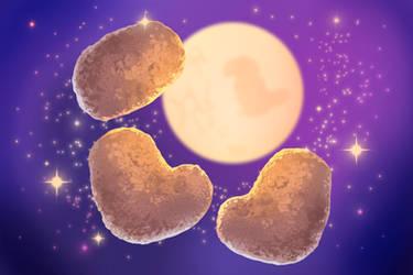 Three Nugget Moon