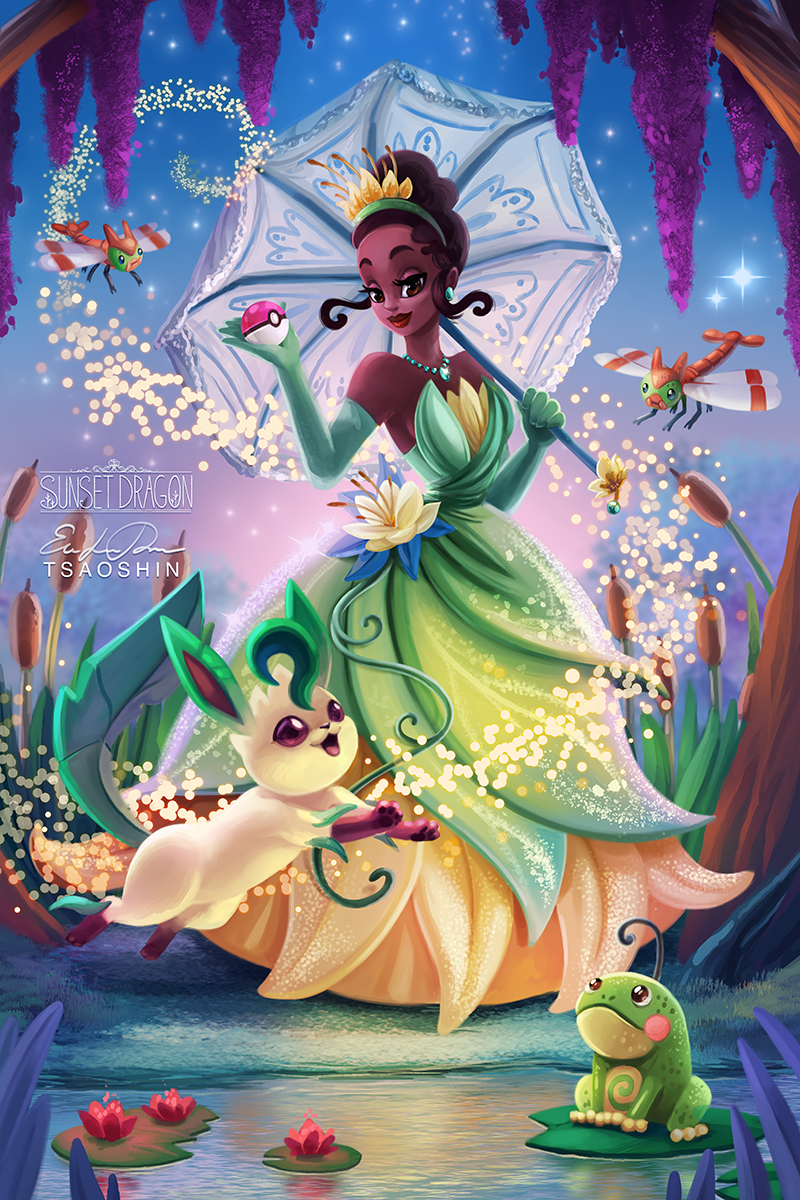 The Princess and the Leafeon