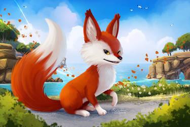 RiME Fox - Paint Along