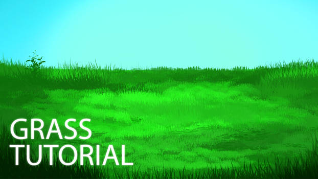 How to Digitally Paint Grass