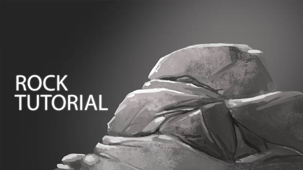 How to Digitally Paint Rocks