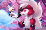 Lycanroc and Cutiefly