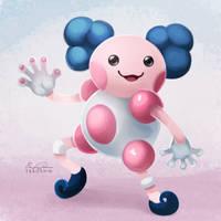 122 - Mr Mime by TsaoShin